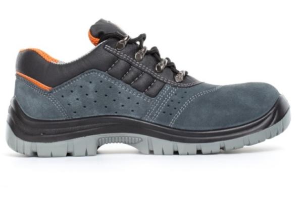 Graf, czarno-niebieskie buty