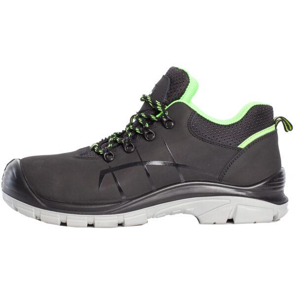 Czarne buty robocze